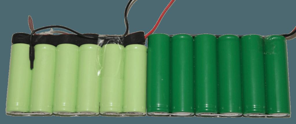 Pack baterías falsas