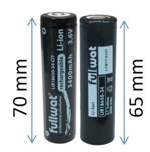 baterías de litio ión on y sin circuito de protección