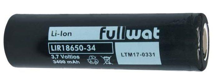 Batería de litio ión LIR18650-34