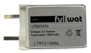Batería de litio polímero LP803450