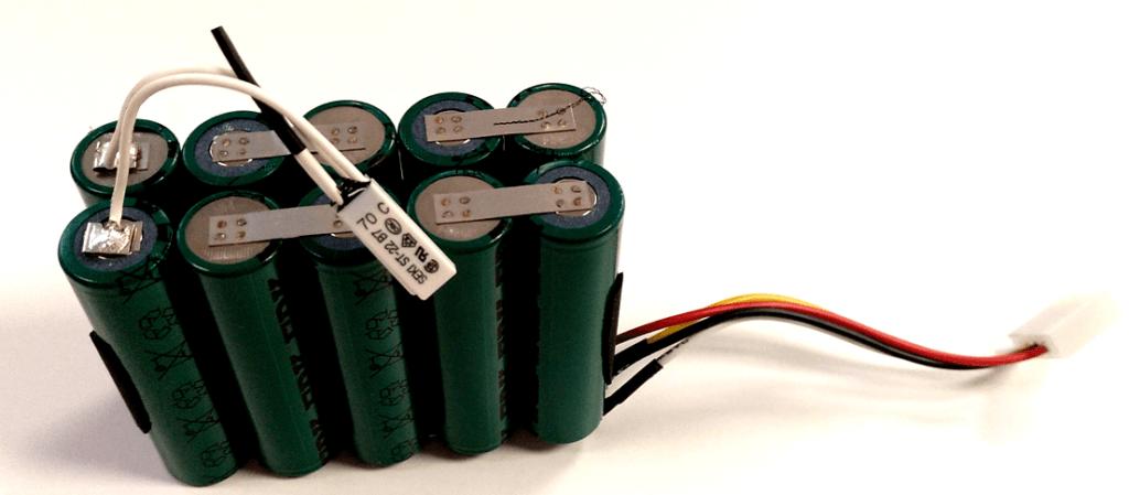 pack baterías, termoestato